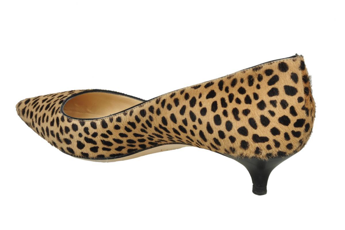 Leopard Kitten Heels - Is Heel