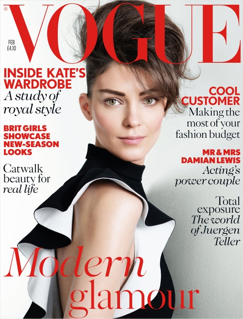 British Vogue February 2013 issue